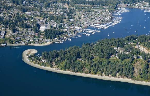 Northwest region view from above