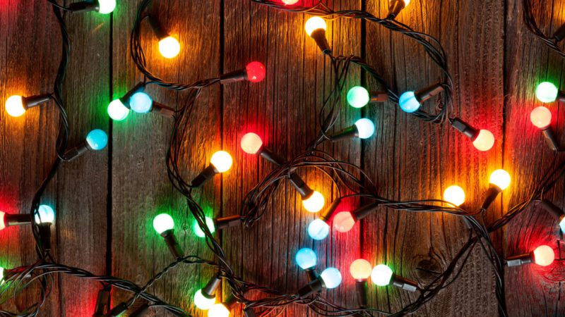 Holiday lights, multicolor