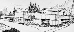 New PLC Headquarters Drawing B&W