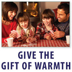 Give the Gift of Warmth