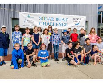 Solar Boat Challenge participants