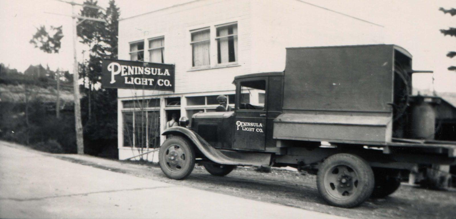 old pen light truck