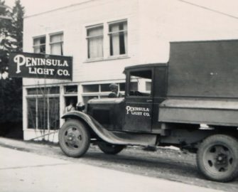 old pen light truck