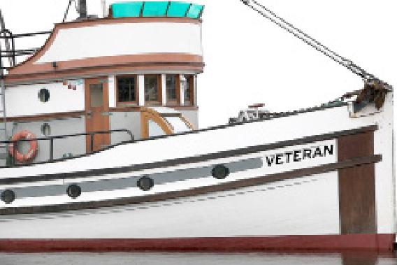 """illustration of ship named """"Veteran"""""""